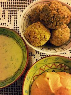 Comedora de Mato : Bolinhos de brócolis com molho ranch vegan