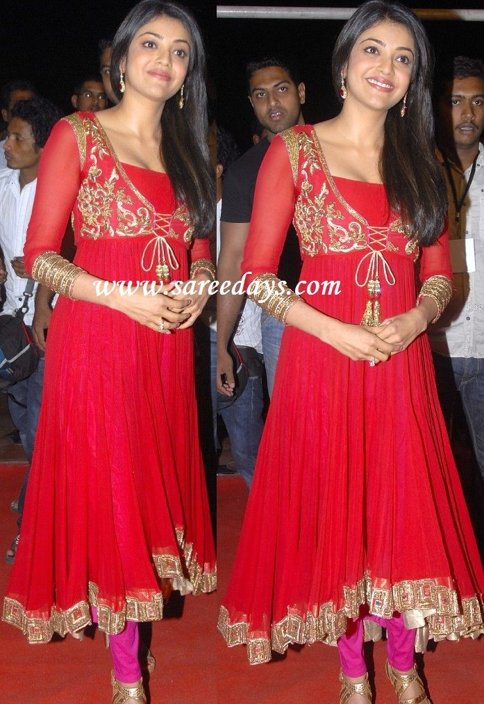 kajal awarwal simple salwar - Google Search