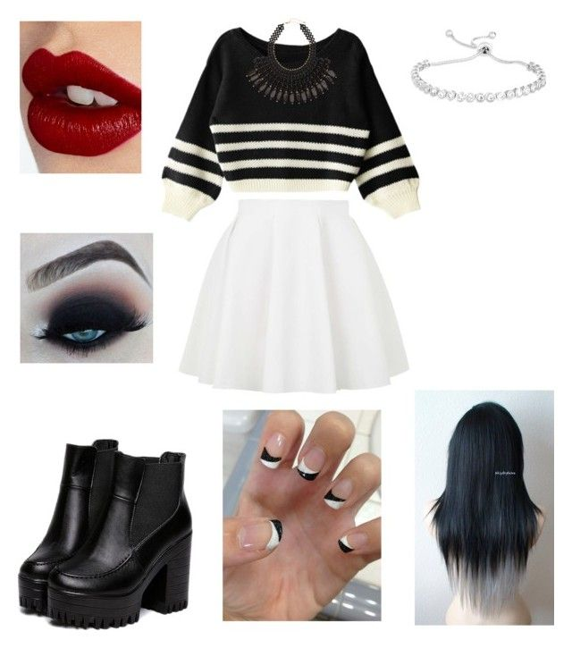 """""""Untitled #806"""" by vanessa898 ❤ liked on Polyvore featuring Topshop, H&M and Charlotte Tilbury"""