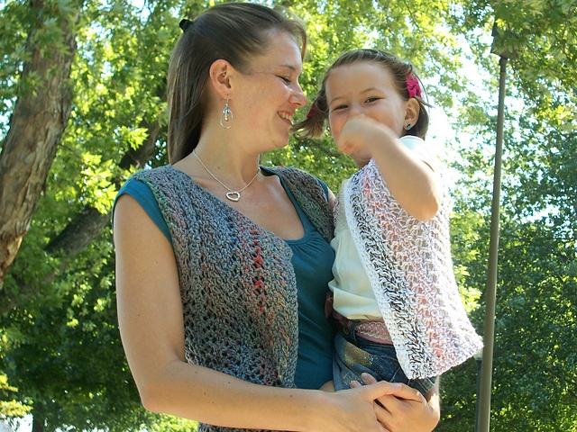 Ravelry: Remixed Vest pattern by Eileen Vito