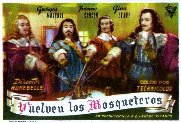"""Vuelven los Mosqueteros (1953) """"Les 3 Mousquetaires"""" de André Hunebelle - tt0046461"""