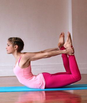 Did you know this bow pose can help with digestion?
