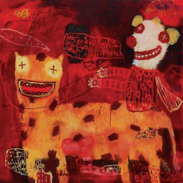 "Saatchi Art Artist deny pribadi; Painting, ""lost the power"" #art"