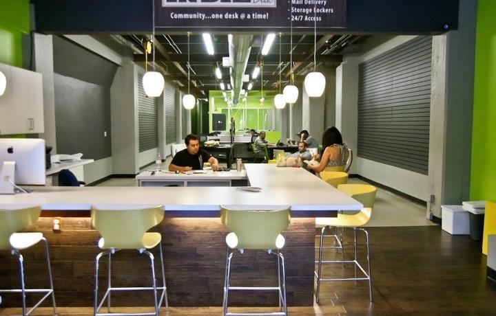 Coworking Space - Indie Desk, Los Angeles, USA