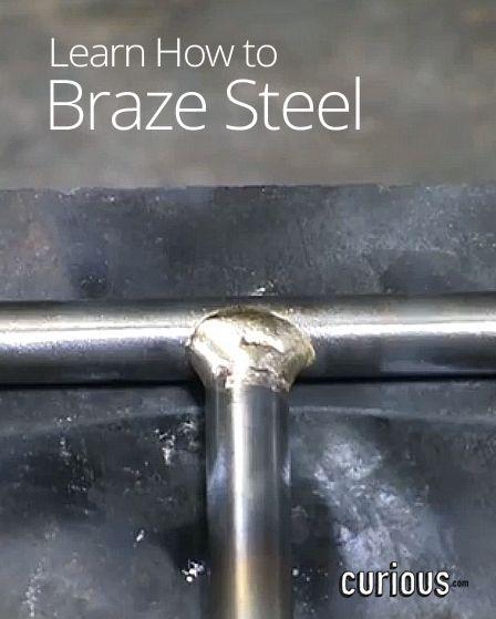 How to Braze Steel in Metalworking