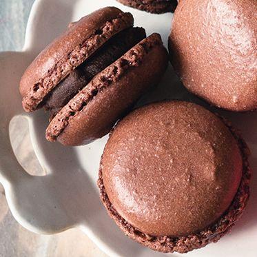 Schokoladenmacarons Rezept | Küchengötter