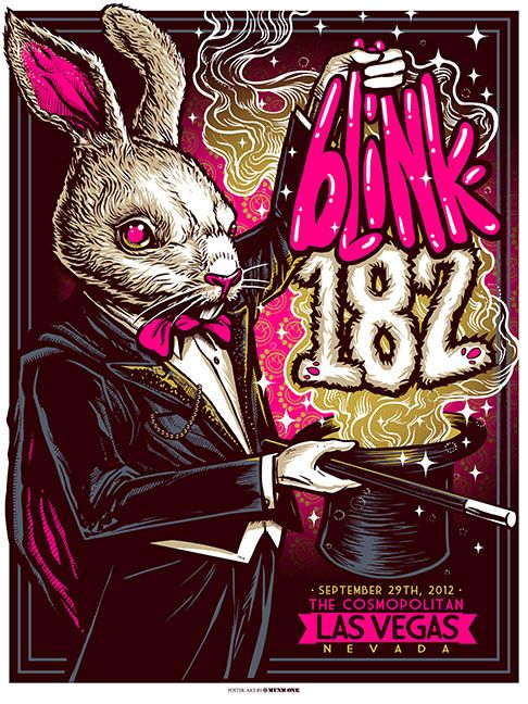 Blink-182, by Munk One