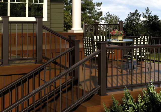 Deckorators Cxt Deck Railing Bronze Deck Ideas In 2019