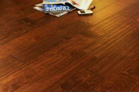 "Boulder Creek Tuscan Sun 3/8"" Hand Scraped Hardwood Flooring"