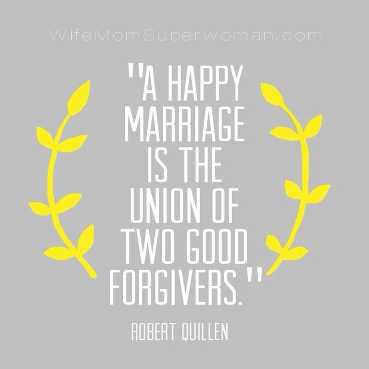 This blog post has 5 inspirational quotes on marriage that are so encouraging, including this one on forgiveness!