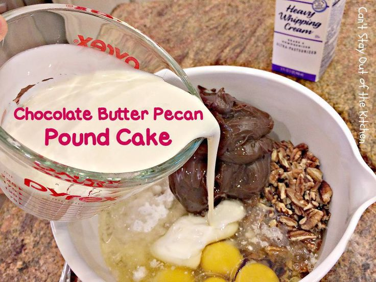 Chocolate butter pecan pound cake chocolate butter