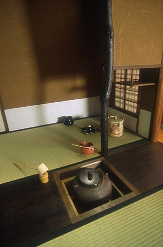 Japanese traditional room for Chadou (tea ceremony).