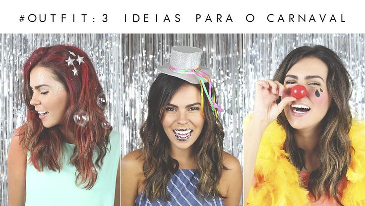 CARNIVAL OUTFIT: 3 looks para o carnaval de rua  #getthelooks: http://www.shopcarolfarina.com.br/