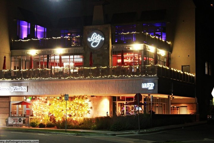 Lucy Restaurant at night
