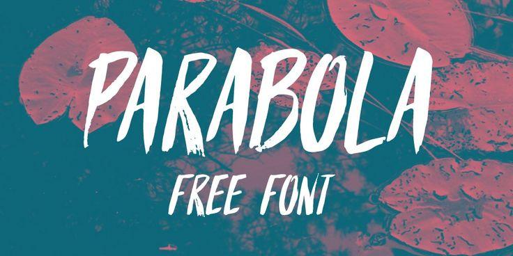 Parabola Brush Font