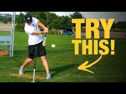 (30) SIMPLE HITTING DRILL To Make Perfect Contact! - YouTube