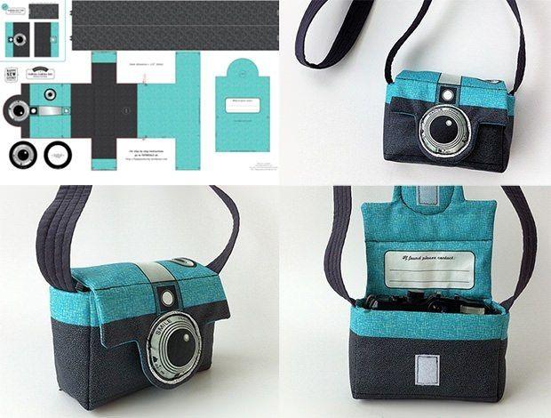 Сумка для фотоаппаратуры своими руками
