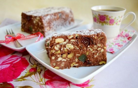 Tort de biscuiti, de post | Rețete Merișor