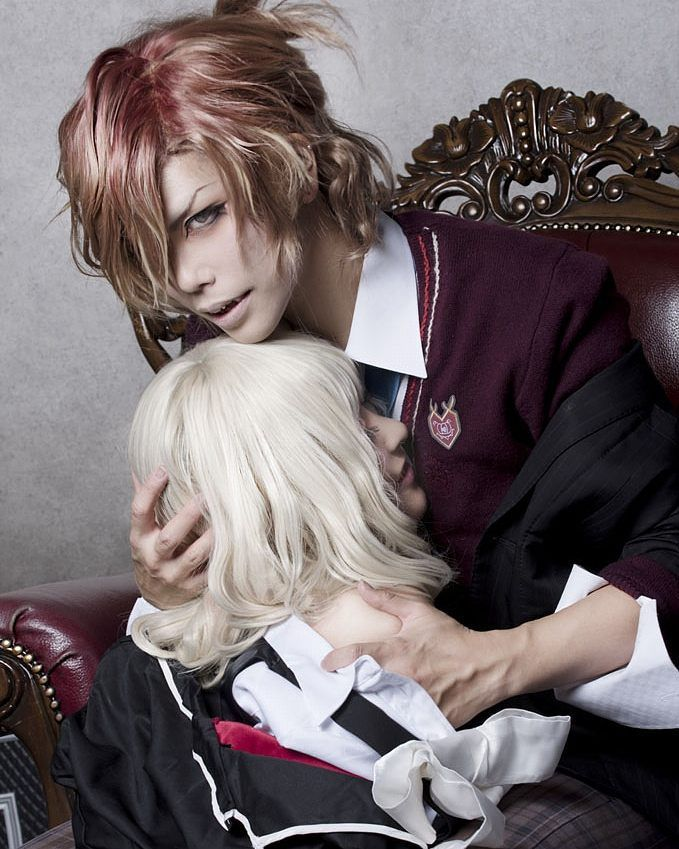 "Anime:  diabolik lovers "" more blood "" Character: mukami yuma  Cosplayer: Zomi…"