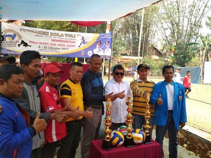 Turnamen Bola Voli IVO Golempang Cimaragas, Diikuti 44 Tim Dari 7 Kecamatan