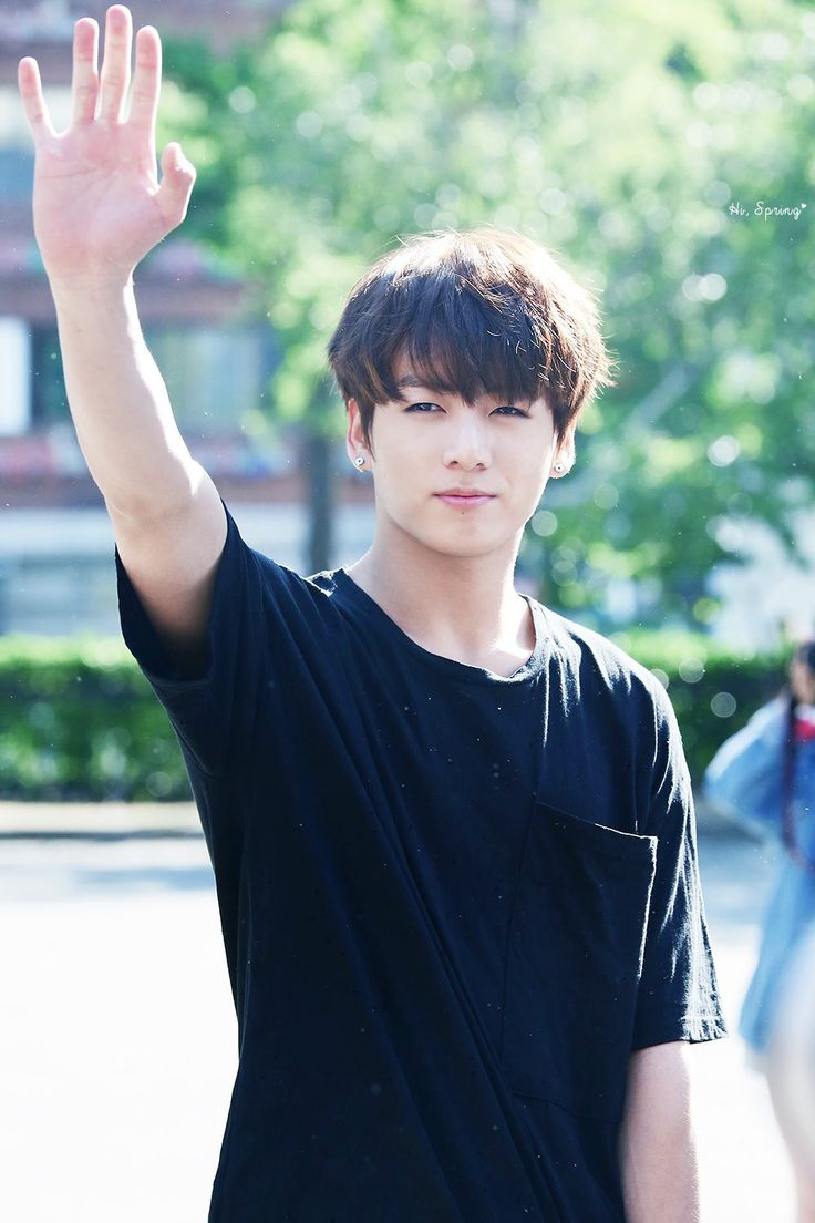 * Virtually and magically touches his hand * Person: Jeon Jungkook Group: Bangtan Sonyeondan Occupation: Singer
