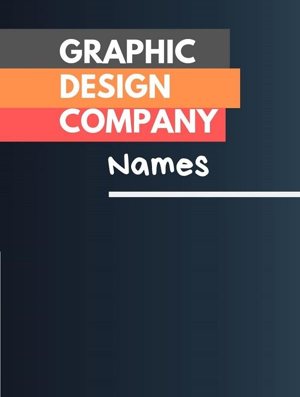 493 Creative Graphic Design Company Names Video Infographic