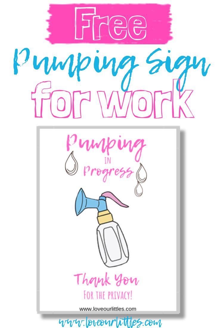 Pumping Sign 1  Pumping Tips  Pumping Breastmilk  Pumping At Work -8587