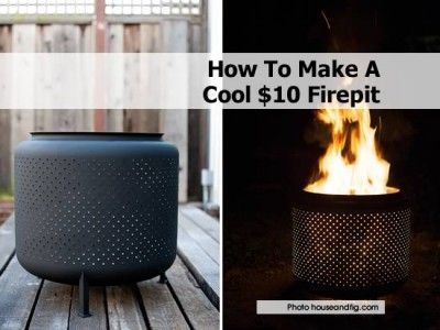 How To Make A Cool $10 Firepit
