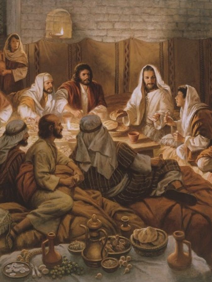 "The Last Supper  On the first day of the Festival of Unleavened Bread, the disciples came to Jesus and asked, Where do you want us to make preparations for you to eat the Passover? ""Matthew 26:17-30"
