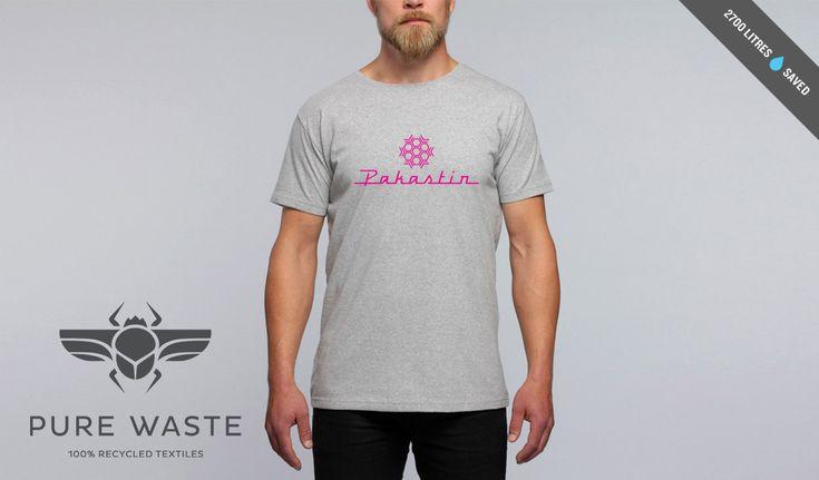 Pakastin Helsinki Limited edition Pure Waste t-paita,harmaa pinkillä logolla. http://www.pakastinhelsinki.com Laadukas Pure Waste 100% kierrätysmateriaalista tehty t-paita. www.purewaste.org #MakersAndDoers #inspiration #fashion