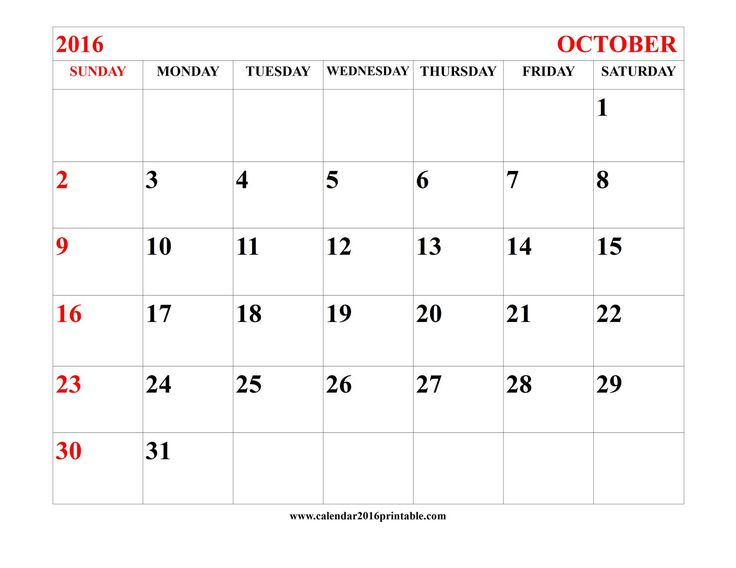 The 25+ best October calendar 2016 ideas on Pinterest October - event calendar templates