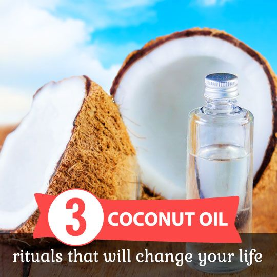 3 Morning Coconut Oil Rituals That Will Change Your Life (No. 3 is so important for overall health and wellness)