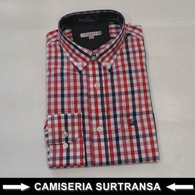 Camisa Cuadros Surtransa 576