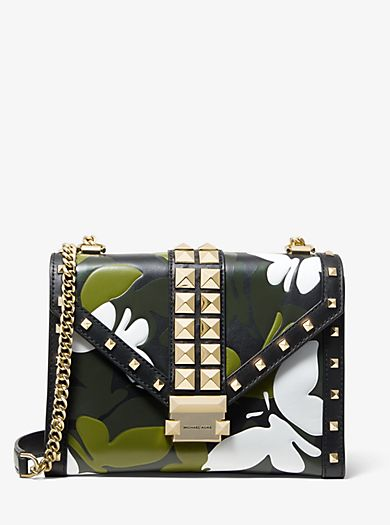 1e8d0c90befe Whitney Large Butterfly Camo Convertible Shoulder Bag