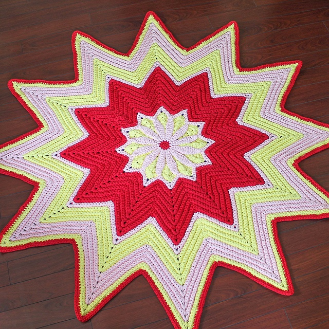 130 best images about H?keln Teppich / crochet rug on ...