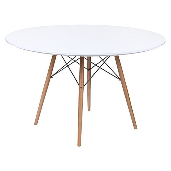 Replica Eames Eiffel DSW Round Dining Table by Replica Charles & Ray Eames