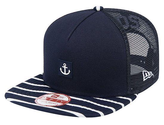 Marine Stripe Snapback Cap by NEW ERA