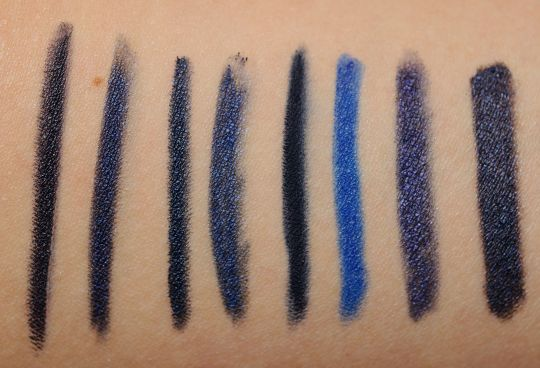 Navy Blue Eyeliners: Swatches, Dupes, and Comparisons
