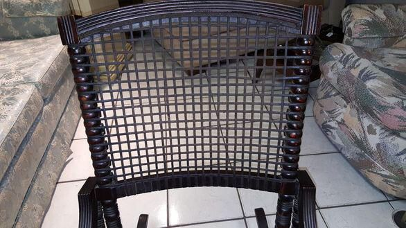 George Hunzinger Antique Rocking Chair on Chairish.com