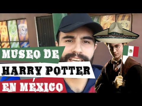 Museo de Harry Potter en México - YouTube