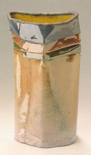 June Schwarcz: electroformed copper, enamel