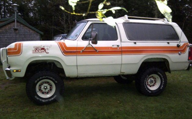 Top Hand Edition 1978 Dodge Ramcharger Dodge Ramcharger Dodge Power Wagon Dodge