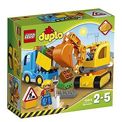 LEGO 10812 Duplo Truck & Tracked Excavator: Amazon.co.uk: Toys & Games