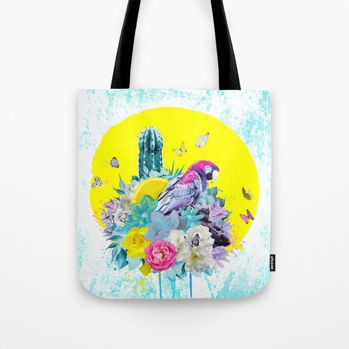 VIDA Tote Bag - hyacinth macaw tote by VIDA rKOKkmCW
