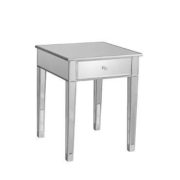 Mirage Mirrored Accent Table--Grand in Road $249