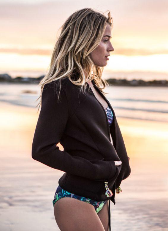 Brunotti all board Sports 16 campaign women available at brunotti.com #GetonBoard - bikini / neoprene jacket