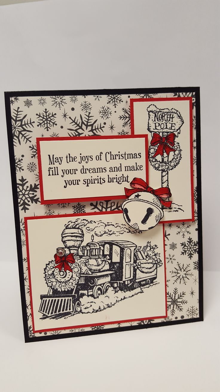 Stampin Up Christmas Magic Stamp Set - Oct 2016