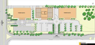 Projeto Office Park, um complexo privado em construção no Jardim Botânico para abrigar grandes empresas.