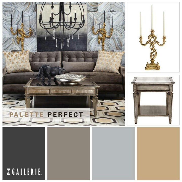 144 best Dark Grey and Gold images on Pinterest
