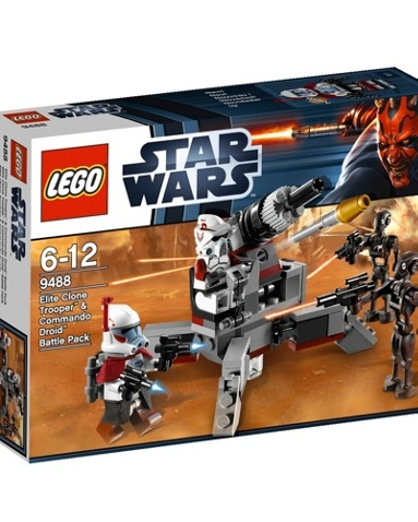 Fans of Lego and fans of Star Wars will love this Star Wars Clone Trooper Lego set. This great value set includes 4 minifigures, an ARC trooper, an ARF trooper and 2 new enemy commando droids. £12 from Debenhams